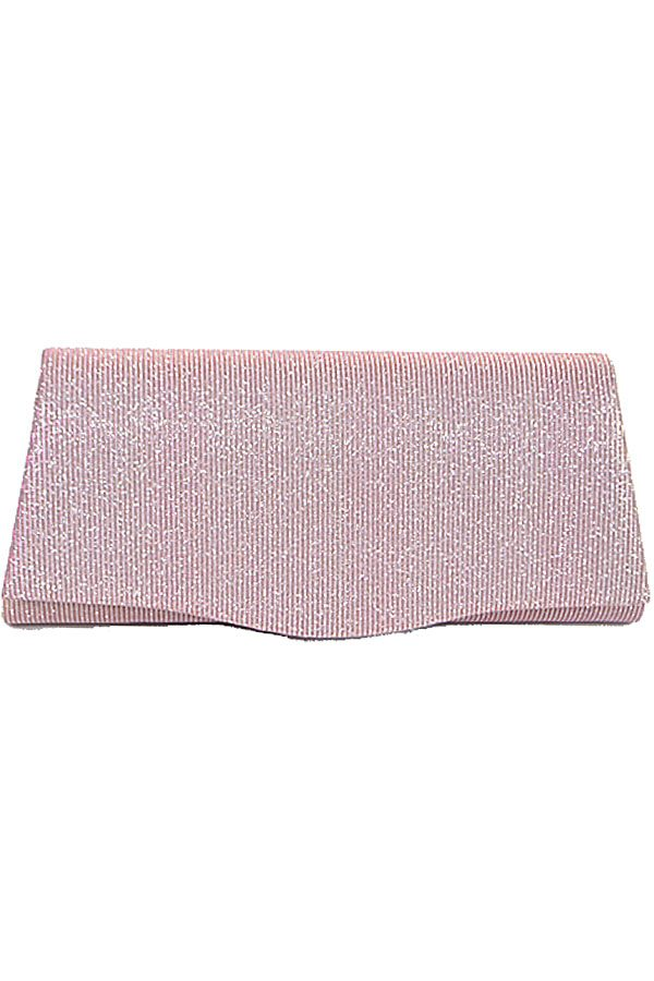 Rectangular shiny evening clutch - Creole Couture Boutique