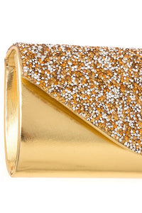 Encrusted rhinestone pave evening clutch bag - Creole Couture Boutique