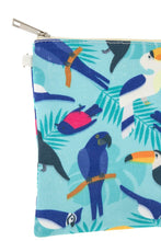 Ladies fashion mix bird print clutch bag-id.CC35714 - Creole Couture Boutique