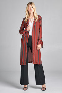 Billa Striped Jacket - Creole Couture Boutique