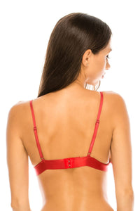 Triangle embroidery bralette - Creole Couture Boutique