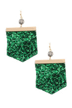 Sequin fashion earring - Creole Couture Boutique