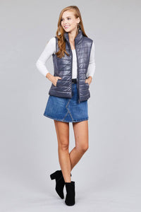 Quilted padding vest - Creole Couture Boutique