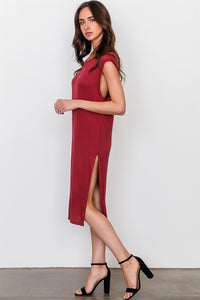 Side split long tunic top - Creole Couture Boutique