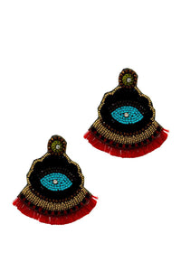 Designer Chic Antic Drop Earring - Creole Couture Boutique