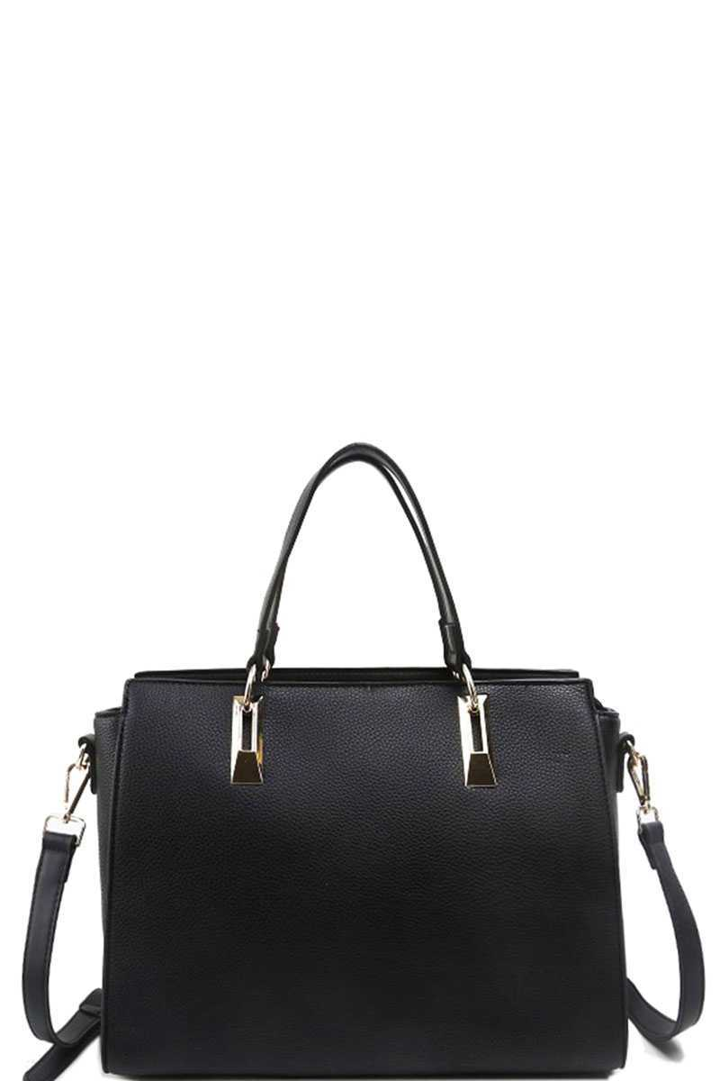 Modern Chic Stylish Satchel With Long Strap - Creole Couture Boutique