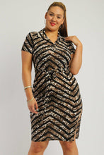Print, Midi Tee Dress - Creole Couture Boutique