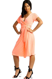 Wrapped Style Midi Dress - Creole Couture Boutique