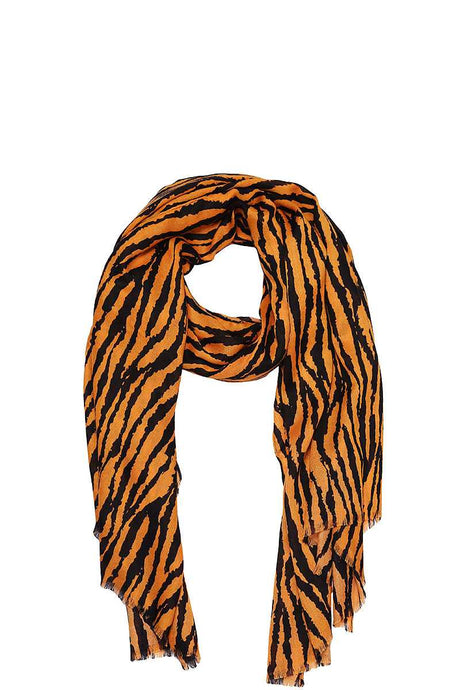 Modern Zebra Print Scarf - Creole Couture Boutique