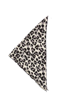 Leopard Print Triangular Scarf - Creole Couture Boutique