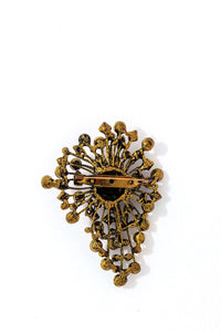 Stylish Modern Multi Rhinestone Brooch - Creole Couture Boutique