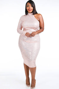 Trans Sequins Skirt Set - Creole Couture Boutique