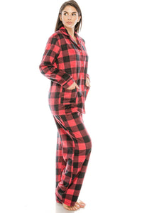 2 Pc. Fleece Pj Set - Creole Couture Boutique