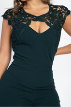 Crochet Lace Cutout Jumpsuit - Creole Couture Boutique