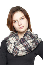 Soft Plaid Infinity Scarf - Creole Couture Boutique