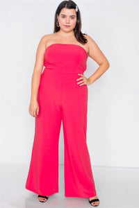 Buckle Cut-out Sleeveless Wide Leg Jumpsuit - Creole Couture Boutique