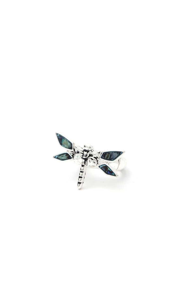 Dragonfly Stretch Ring - Creole Couture Boutique
