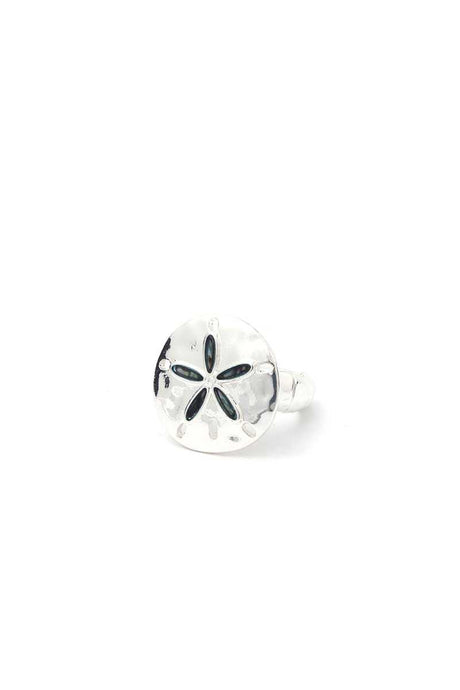 Sand Dollar Stretch Ring - Creole Couture Boutique