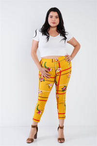 Chic Ankle Length Leggings - Creole Couture Boutique