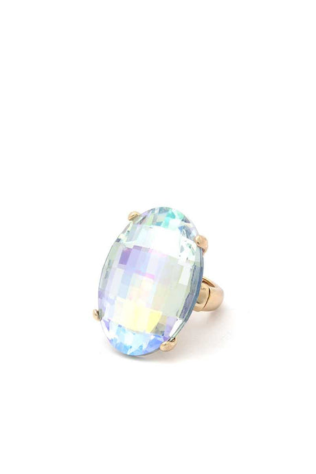 Oval Shape Ring - Creole Couture Boutique