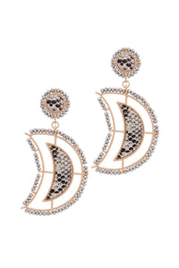 Beaded Snake Evermore Earrings - Creole Couture Boutique