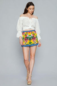 Tropical Lounge Shorts - Creole Couture Boutique
