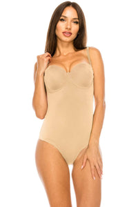 Devine Bodysuit W/ Molded Cup - Creole Couture Boutique