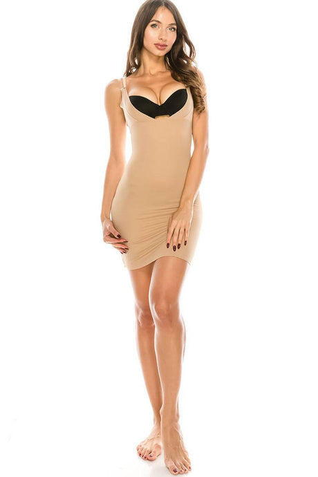 Flirty Microfiber Shapewear Slip - Creole Couture Boutique