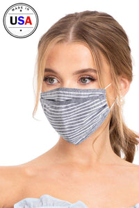Greystone 3d Reusable Face Mask - Creole Couture Boutique