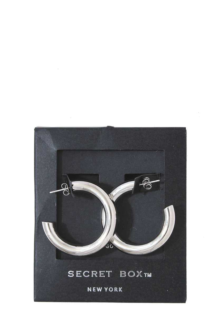 Double Flossy Hoop Earring - Creole Couture Boutique