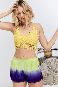 Lovely Floral Crochet Top - Creole Couture Boutique