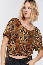 Animal Instincts Short Sleeve Tee - Creole Couture Boutique