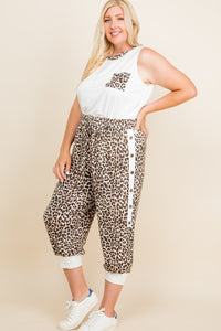 Daiana Animal Jogger Pants - Creole Couture Boutique