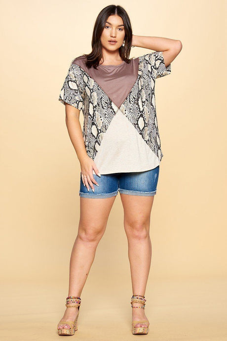 Mighty Python Knit Top - Creole Couture Boutique