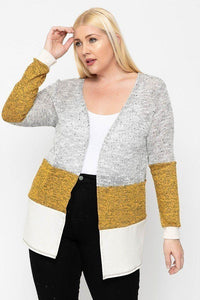 Sesila Color Block Cardigan - Creole Couture Boutique