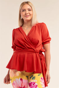 Anna Pleated Top - Creole Couture Boutique