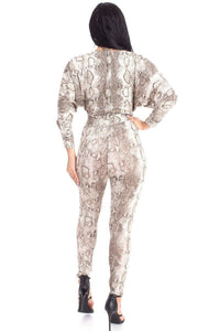 Harley Animal Print Jumpsuit - Creole Couture Boutique