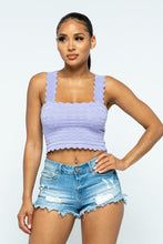 Hazel Pointelle Crop Top - Creole Couture Boutique