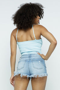Ida Tank Crop Top - Creole Couture Boutique