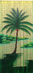 Tropical Palm Tree Bamboo Doorway