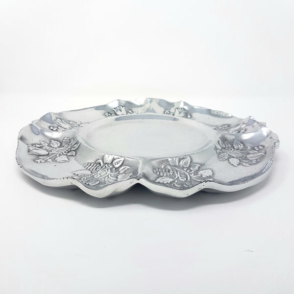 rose pewter tray