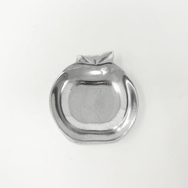 apple pewter sculpture