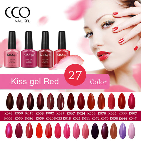 CCO Kiss Bright Color Polish Gel for Nails