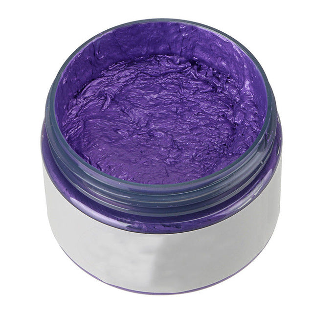 Unisex DIY Hair Color Wax Temporary Dye Cream
