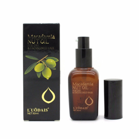 100% Pure Moroccan Argan Macadamia Nut Oil for Hair Scalp Treatment