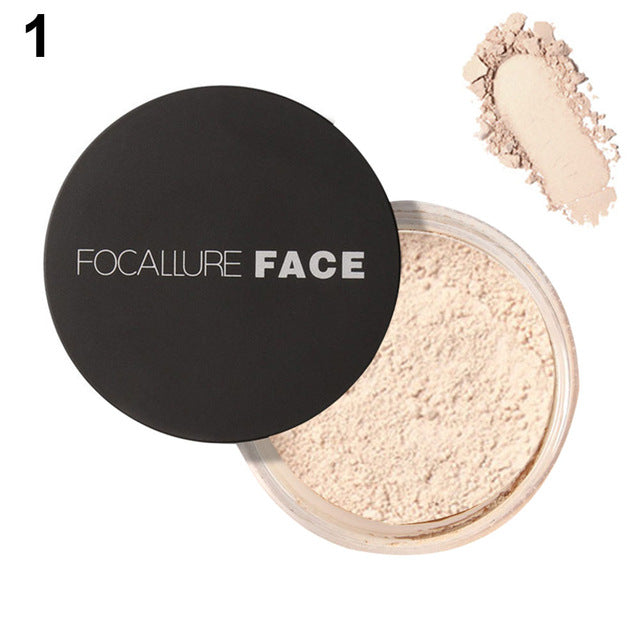 Waterproof & Oil Control Beauty Makeup Powder for Face