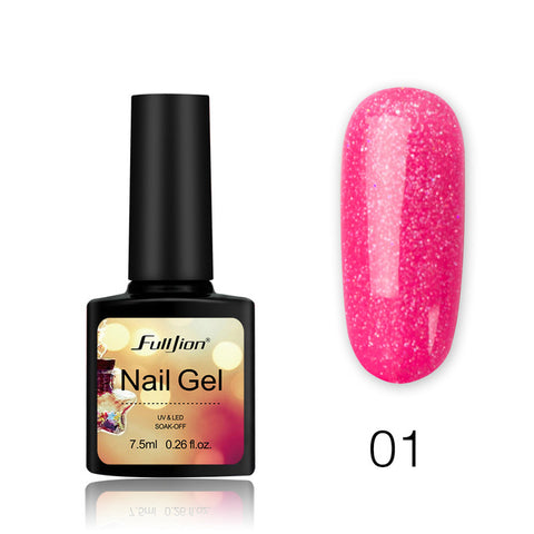 Shiny Neon Lacquer Polish Gel for Nails