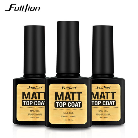 Matte Top Coat UV Polish Gel for Nails