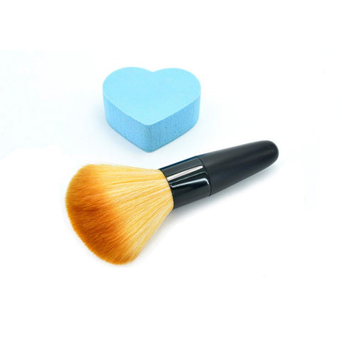 New Natural 1Piece Angled Make up Powder Blush Brush for Face Cheek