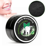 Natural Mint & Organic Activated Charcoal Powder for Teeth Whitening